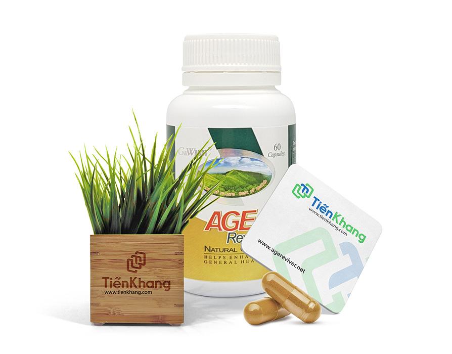 AGE Reviver - Viên uống thảo dược phục hồi sinh lực